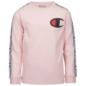 Boys Grade School Champion Taped LS T-Shirt